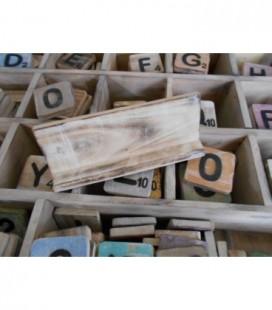Letterplankje 20 cm