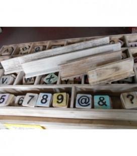 Letterplankje 40 cm