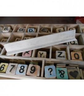 Letterplankje 60 cm