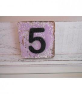 Scrabble cijfer 5