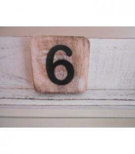 Scrabble cijfer 6