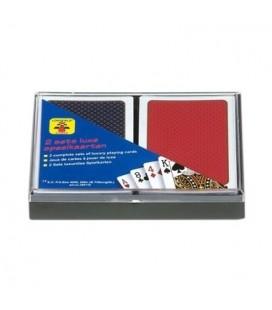 Longfield speelkaarten kadoset - set van 2