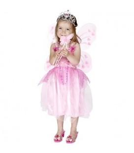 Prinsessenjurk 6-8 jaar - roze