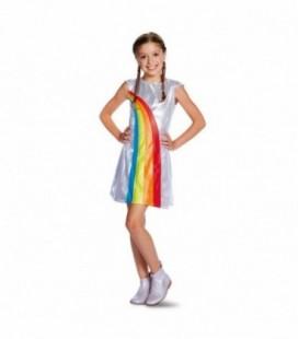 K3 verkleedjurk regenboog 3-5 jaar - maat 116