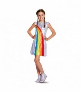 K3 verkleedjurk regenboog 6-8 jaar - maat 134