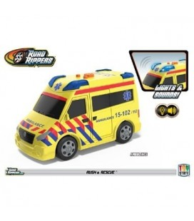Road Rippers Rush & Rescue ambulance
