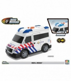 Road Rippers Rush & Rescue politiebus