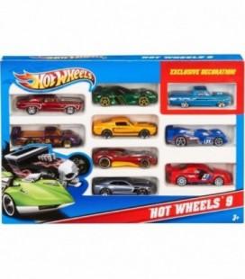 Hot Wheels auto's 10 stuks