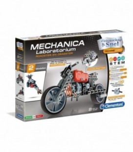 Clementoni mechanica laboratorium dragster en roadster