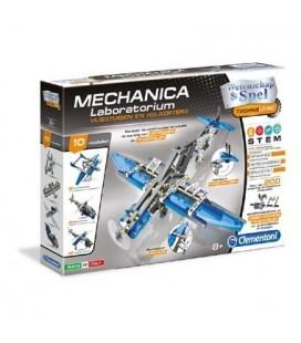 Clementoni mechanica laboratorium vliegtuigen en helikopters