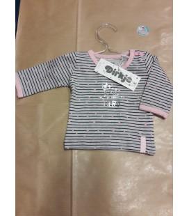 Baby shirt meisje met streepjes