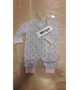 Baby boxpakje roze grijs met sterren