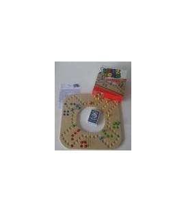 Keezbord: Kunststof 4 persoons puzzelvorm