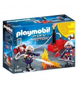 Playmobil city action 9468 brandweer team