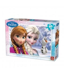 Frozen puzzel 50 stukjes