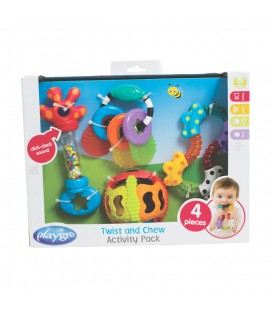 Playgro twist and chew activity bijtspeeltjes