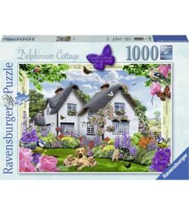 Delphinium cottage - 1000 stukjes