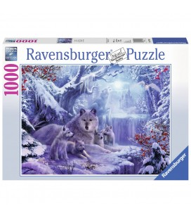 Ravensburger puzzel wolven in de winter - 1000 stukjes