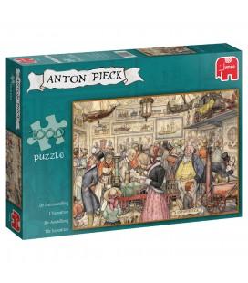 Jumbo puzzel Anton Pieck De Tentoonstelling - 1000 stukjes