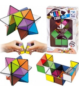 Clown magic cube 2 in 1
