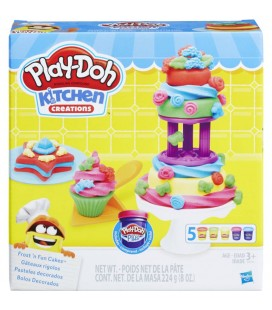 Play doh kitchen creations zoete traktatie klei