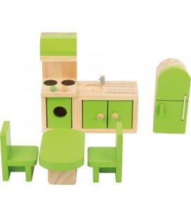 Poppenhuis keuken meubelen