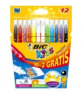10+2 bic kids uitwasbare toverstiften