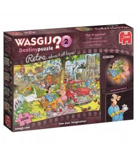 Jumbo Wasgij puzzel Destiny retro puzzel het aanzoek 1000 stukjes
