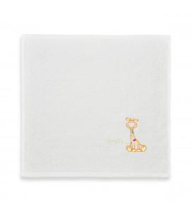 Spuugdoek Girafje Oranje