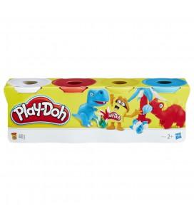 Play-Doh speelklei 4 potjes