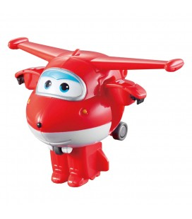 Super wings speelfiguur transform- a-bots jett