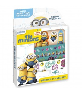 Minions sticker set