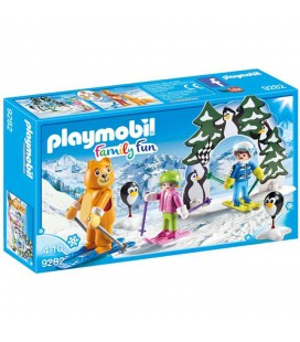 Playmobil skischooltje 9282 Family fun