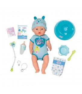 Babyborn soft touch jongen blauw baby born