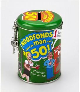 50 jaar spaarpot cadeau