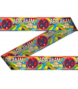 Markeerlint Abraham 50 jaar