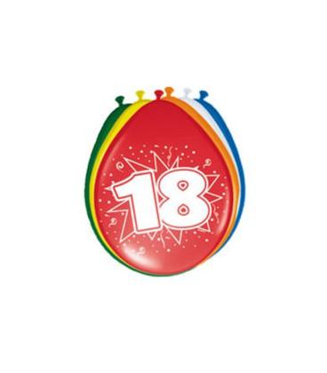 Cijferballon 18 jaar