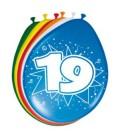Cjjferballon 19 jaar