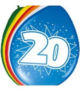 Cijferballon 20 jaar