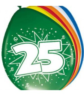 Cijferballon 21 jaar