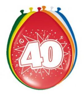 Cijferballon 40 jaar