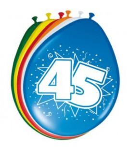 Cijferballon 45 jaar