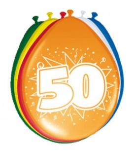 Cijferballon 50