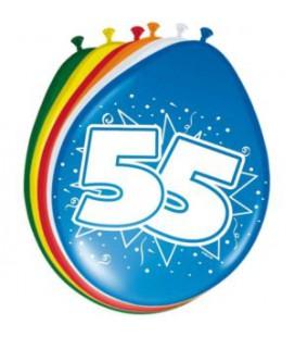 Cijferballon 55 jaar