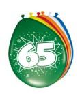 Cijferballon 65 jaar