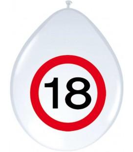 Ballonnen 18 verkeersbord