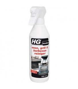 HG  oven, grill & barbecue reiniger/ de effectieve ovenreiniger spray 500 ml