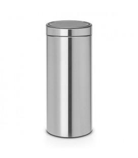 Brabantia touch bin afvalemmer 30 liter matt steel