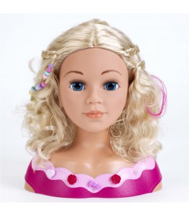 Kapkop met make up princess coralie 33 cm