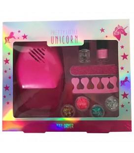 Make up set unicorn manicure
